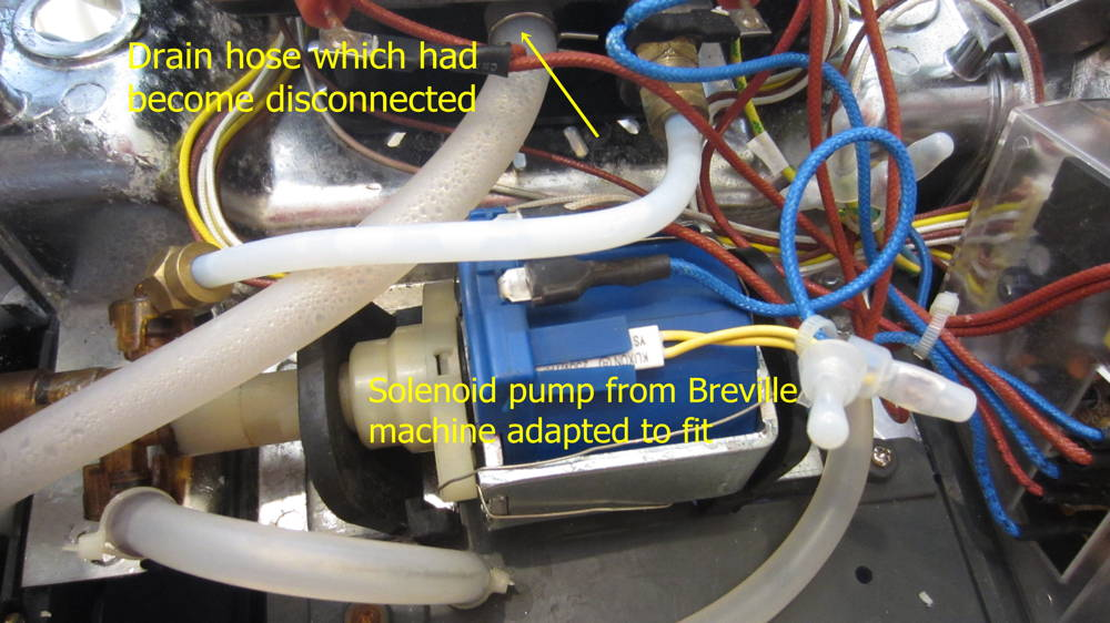 Electrical Electronic Issues Breville 800esxl Repair