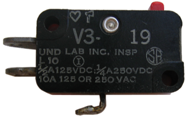 typical V3 series Micro Switch®