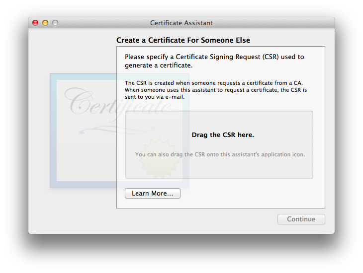 be your own certificate authority
